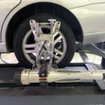 Wheel alignment on a Ford Focus 1 150x150 circle Auto Repair Services